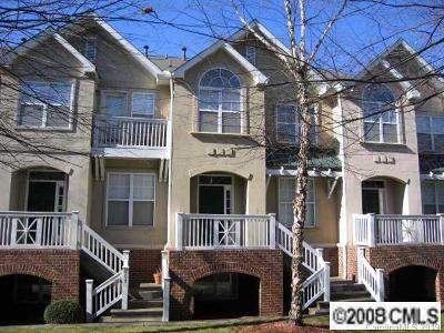 Charlotte Condo/Townhouse For Sale: 855 Clarkson Mill Court #22