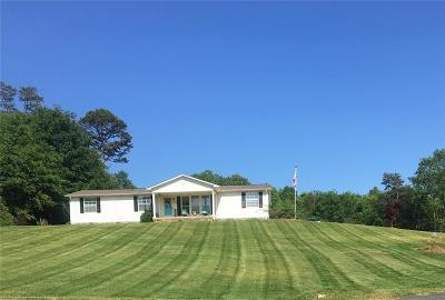 Catawba County Single Family Home For Sale: 5500 Lee Cline Road
