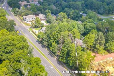 Residential Lots & Land For Sale: 4725 Providence Road