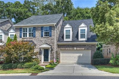 Charlotte Condo/Townhouse For Sale: 3402 Park South Station Boulevard