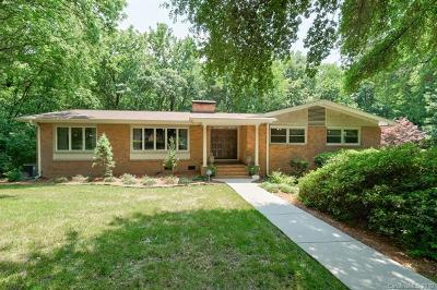 Charlotte Single Family Home For Sale: 7126 Hillside Lane