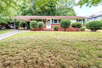 Asheville NC Single Family Home For Sale: $309,000