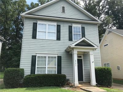 Charlotte Single Family Home For Sale: 4721 Eaves Lane
