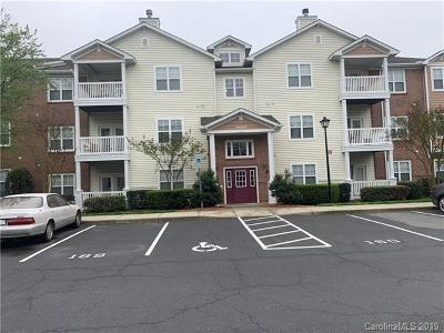Charlotte Condo/Townhouse For Sale: 9857 Hyde Glen Court