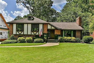 Charlotte Single Family Home For Sale: 5444 Wintercrest Lane
