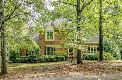 Charlotte Single Family Home For Sale: 5631 Colony Road