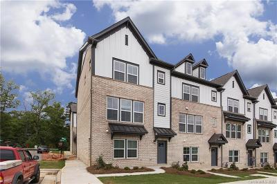 Charlotte Condo/Townhouse For Sale: 604 Tudor Park Way #6
