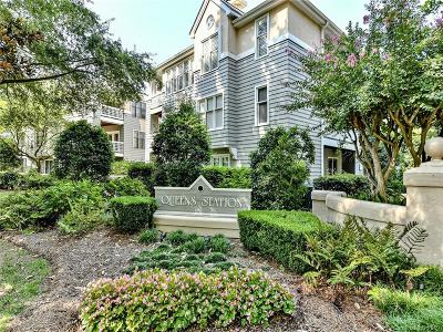 Myers Park Condo/Townhouse For Sale: 226 Queens Road #70