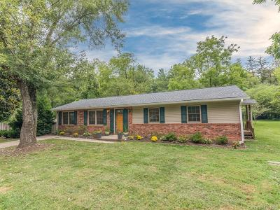 Asheville NC Single Family Home For Sale: $344,900
