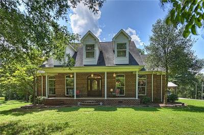 Cabarrus County, Gaston County, Union County, Mecklenburg County, Stanly County Single Family Home For Sale: 5815 Cappy Lane