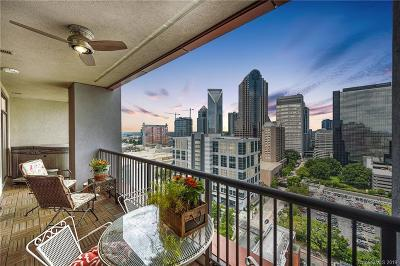 Charlotte Condo/Townhouse For Sale: 222 S Caldwell Street #1905