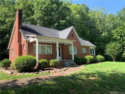 Single Family Home For Sale: 3462 Old Linville Road