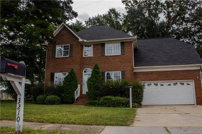 Indian Trail Single Family Home Under Contract-Show: 3210 Fairington Drive