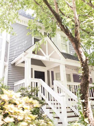Charlotte Condo/Townhouse For Sale: 715 Poplar Street
