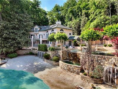 Lake Lure Single Family Home For Sale: 454 Cut Away Road