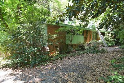 Single Family Home For Sale: 6212 Sharon Road