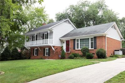 Charlotte Single Family Home For Sale: 4117 Bridgewood Lane