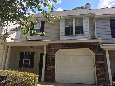 Charlotte Condo/Townhouse For Sale: 4538 Antelope Lane