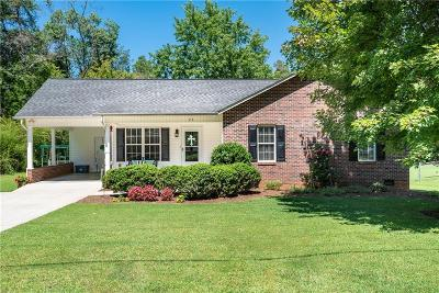 Catawba County Single Family Home Under Contract-Show: 26 W I Street