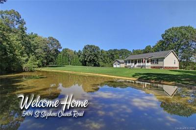Gold Hill Single Family Home Under Contract-Show: 5414 St Stephens Church Road