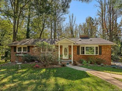 Asheville Single Family Home For Sale: 118 Overlook Road