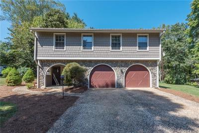 Asheville Single Family Home For Sale: 68 W Oakview Road #1/2