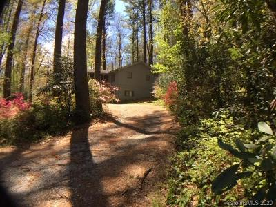 Brevard Single Family Home For Sale: 95 Warbler Road
