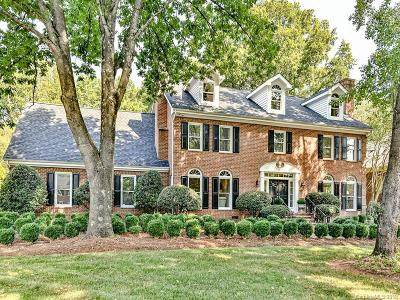 Charlotte Single Family Home For Sale: 6728 N Baltusrol Lane
