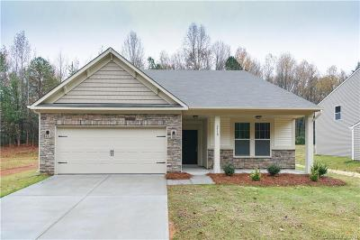 Charlotte NC Single Family Home For Sale: $326,779