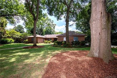 Charlotte Single Family Home For Sale: 1625 Cavendish Court