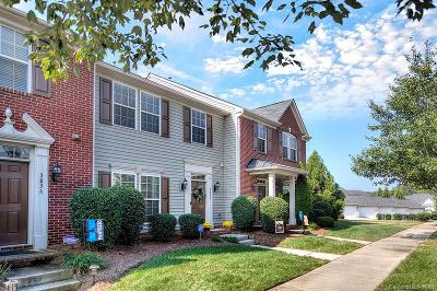 Huntersville Condo/Townhouse For Sale: 3830 Archer Notch Lane