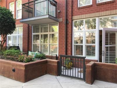 Charlotte Condo/Townhouse For Sale: 1320 Fillmore Avenue #116