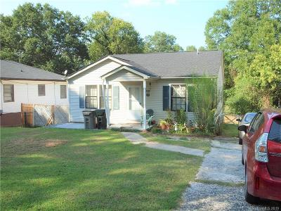 Gastonia NC Single Family Home For Sale: $105,000