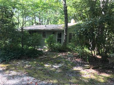 Lake Toxaway NC Single Family Home For Sale: $128,800