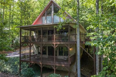 Waynesville Single Family Home For Sale: 177 Serenity Drive