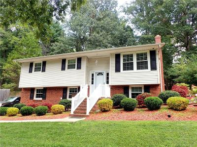 Hickory NC Single Family Home For Sale: $150,000