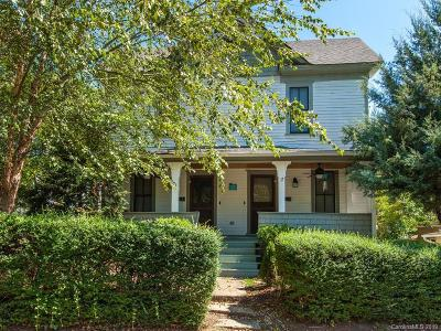 Asheville Single Family Home For Sale: 71 West Street