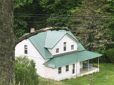 Bakersville NC Single Family Home Active Under Contract: $169,000