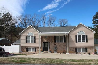 Granite Falls NC Single Family Home Sold: $218,900