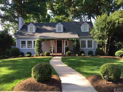 Hickory NC Single Family Home Sold: $284,500