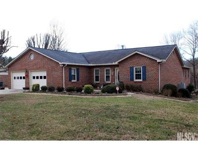 Ashe County, Avery County, Burke County, Alexander County, Caldwell County, Watauga County Single Family Home For Sale: 1106 Applegate Court