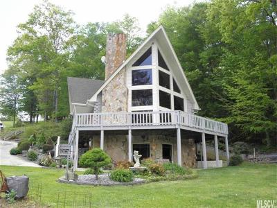 Alexander County, Ashe County, Avery County, Burke County, Caldwell County, Watauga County Single Family Home For Sale: 1925 Lake Acres Drive