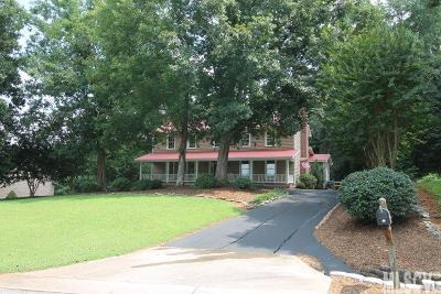Caldwell County Single Family Home Under Contract-Show: 18 Leisure Lane