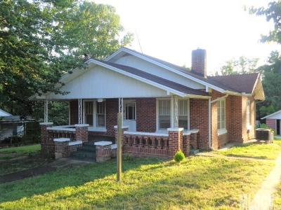 Alexander County, Caldwell County, Ashe County, Avery County, Watauga County, Burke County Single Family Home For Sale: 504 Nellie Street NW