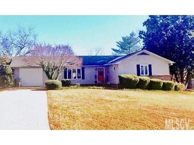 Hudson NC Single Family Home Under Contract-Show: $173,500