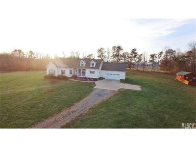 Alexander County, Ashe County, Avery County, Burke County, Caldwell County, Watauga County Single Family Home For Sale: 1292 Hopewell Church Road