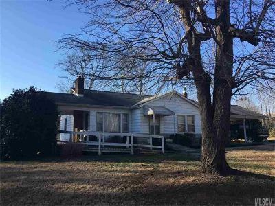 Alexander County, Caldwell County, Ashe County, Avery County, Watauga County, Burke County Single Family Home For Sale: 4681 Calico Road