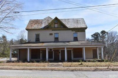 Caldwell County, Alexander County, Watauga County, Ashe County, Avery County, Burke County Single Family Home For Sale: 530 Main Street