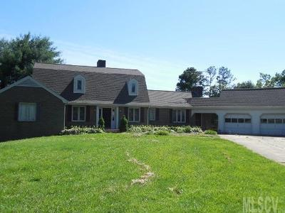Caldwell County Single Family Home For Sale: 5625 Clearlake Dr