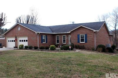Caldwell County Single Family Home For Sale: 1106 Applegate Ct